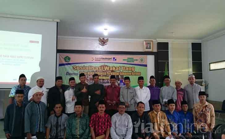 Sosialisasi Wakaf Uang Bank Riau Kepri Syariah