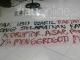 Spanduk Anti Korupsi di Rakor KPK