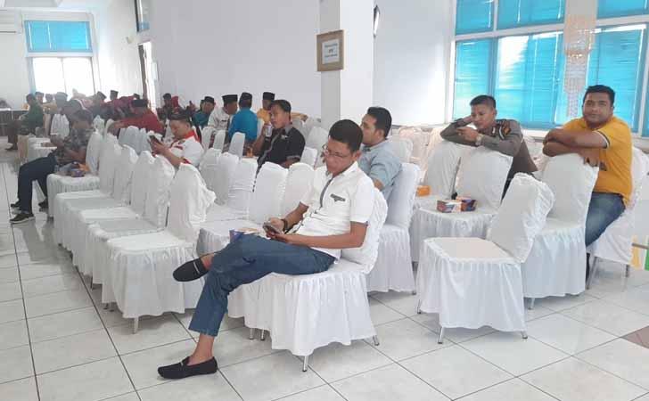 Suasana di Selasar DPRD Kuansing