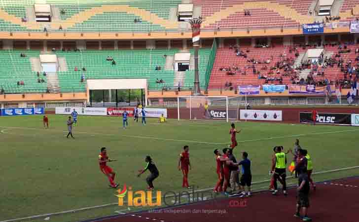 Selebrasi Pemain PS Timah Bangka Belitung
