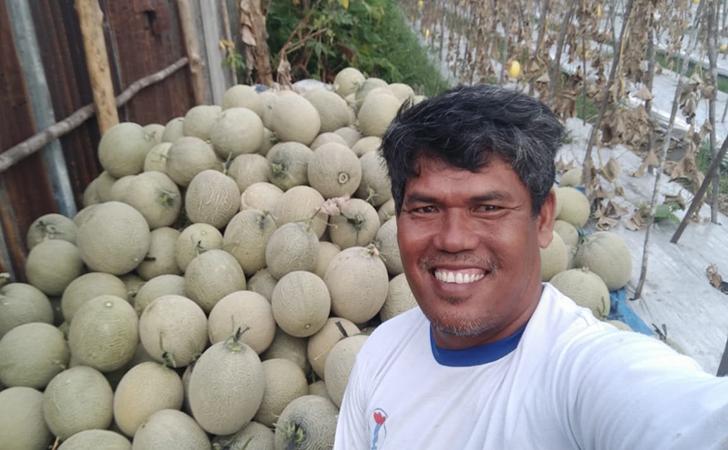 Suprianto dan melon