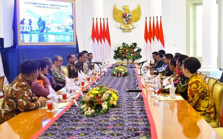 Syamsuar di Istana Kepresidenan