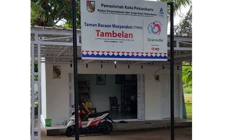 Taman Bacaan Tambelan Pekanbaru