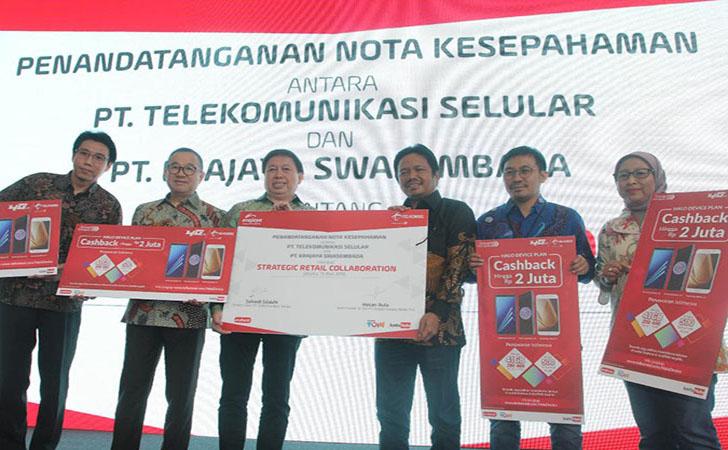 Telkomsel MoU Erajaya2
