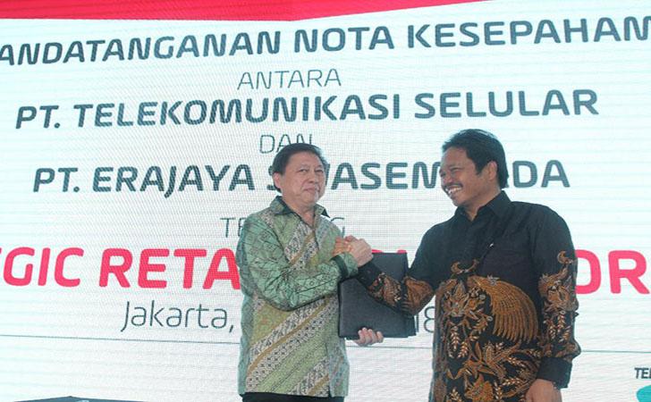 Telkomsel MoU Erajaya4
