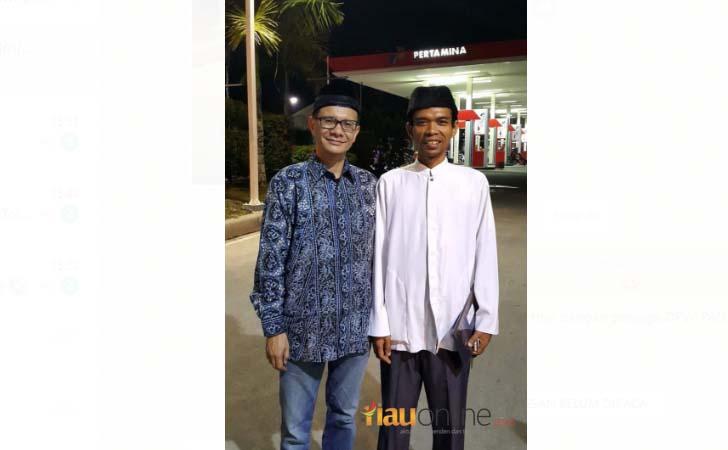Tengku Zulmizan dan Ustad Abdul Somad