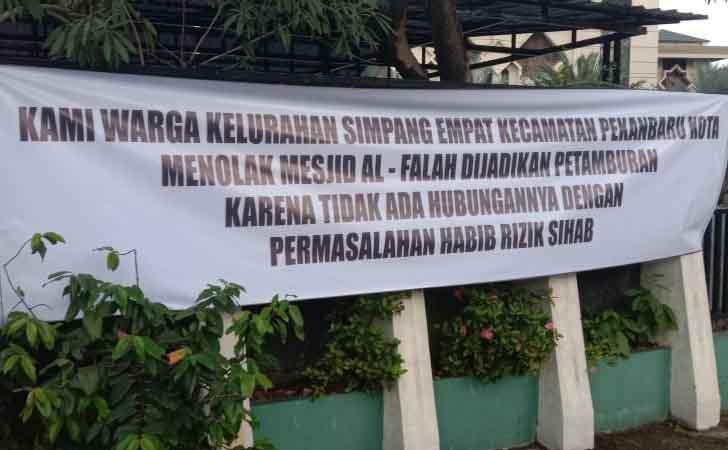 Tolak Penggunaan Aula Masjid