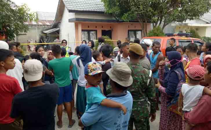 Warga Melihat Rumah Terduga Teroris di Pandau Permai