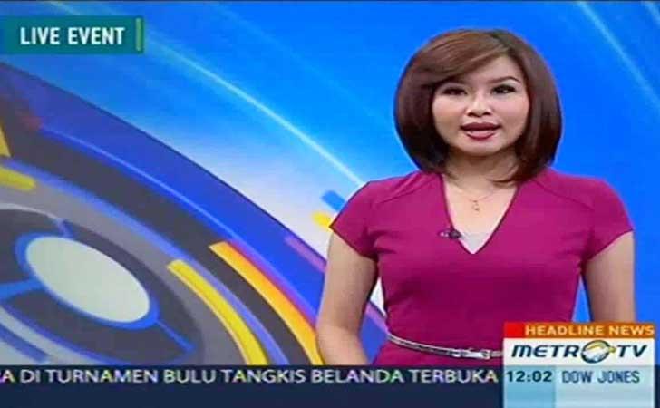 Zilvia Iskandar Pembawa Berita Metro TV