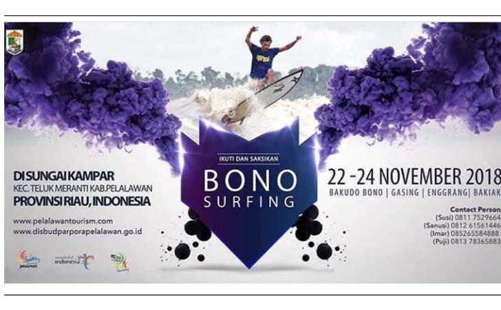 Dinas Pariwisata Pelalawan Langgar Hak Cipta Saat Iven Bono Surfing