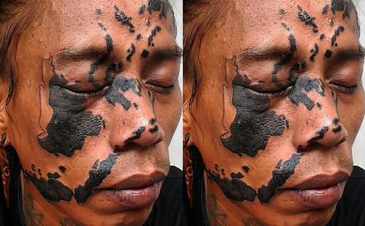 Tato-Peta-Indonesia-di-Wajah-Abraham-Anoya-alias-Ceko.jpg